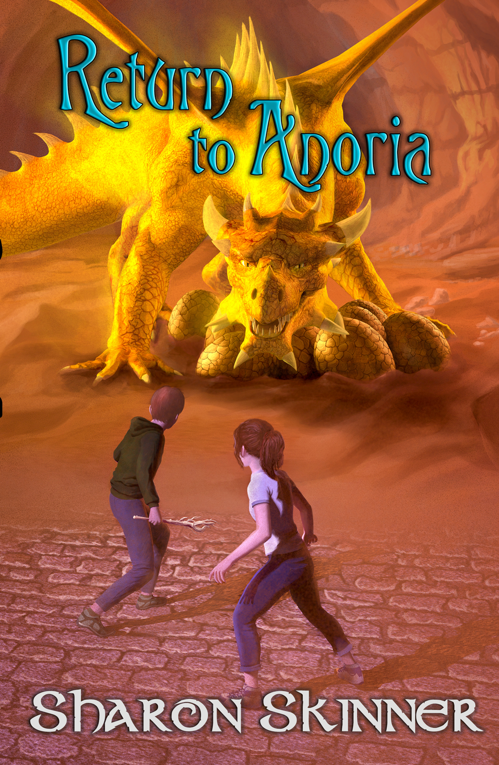 Return to Anoria Author: Sharon Skinner Publisher Name: Brick Cave Books Date of Publication: October 15, 2020