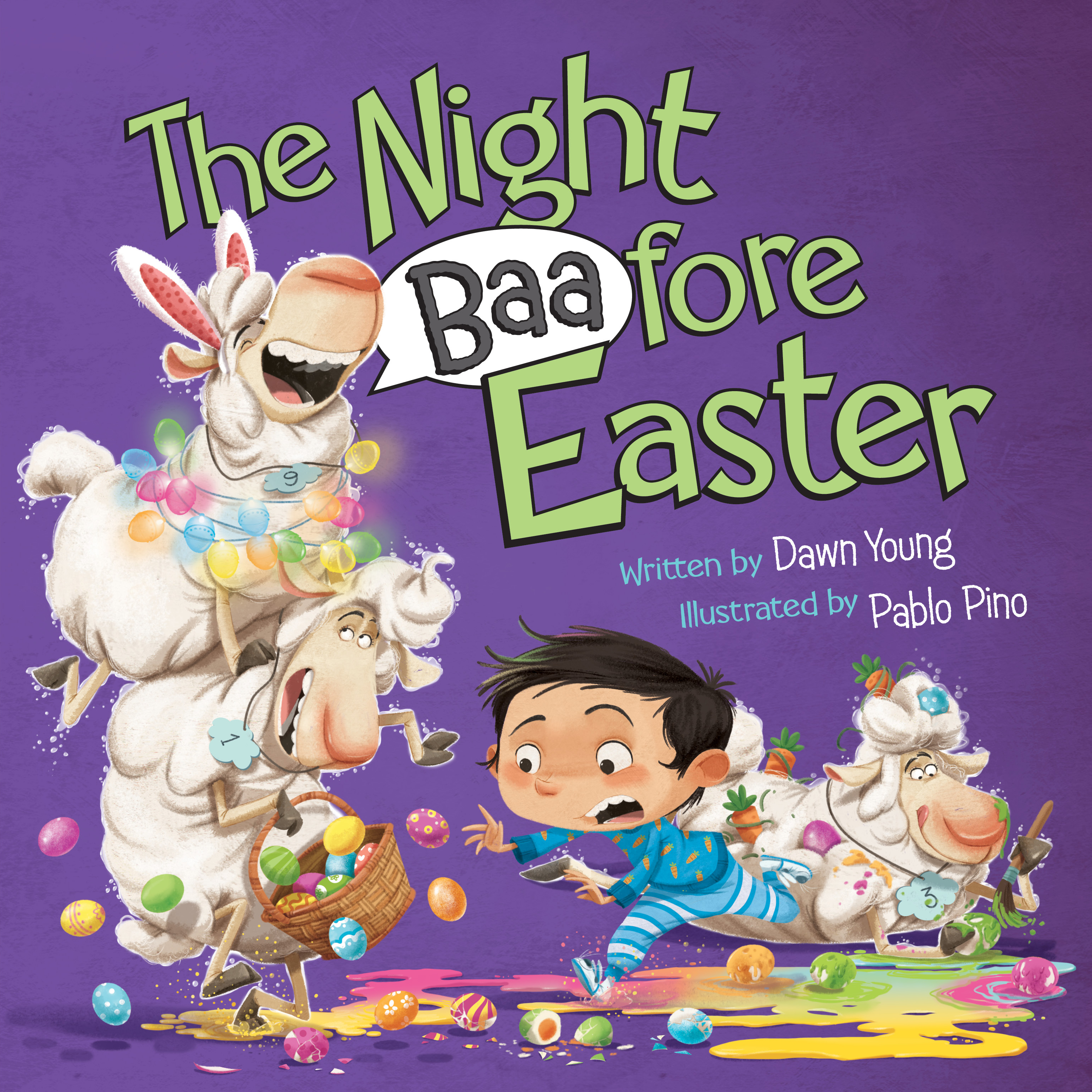The Night Baafore Easter Author: Dawn Young Illustrator: Pablo Pino Publisher Name: Hachette Book Group Date of Publication: January 26, 2021