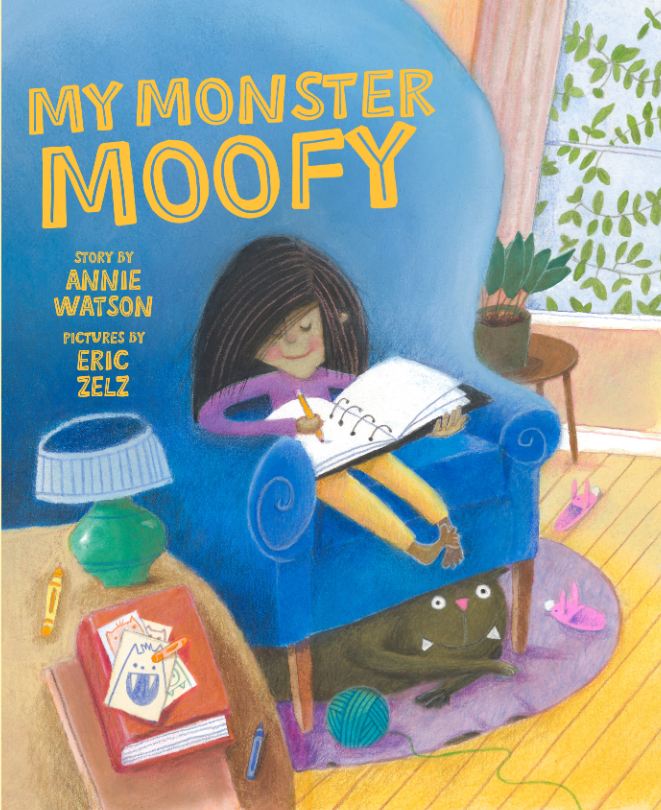 My Monster Moofy Author: Annie Watson Illustrator: Eric Zelz Publisher Name: Tilbury House Publishers Date of Publication: June 15, 2021