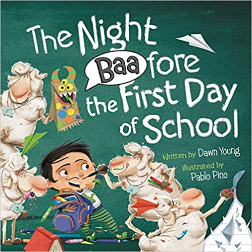 The Night Baafore the First Day of School Author: Dawn Young Illustrator: Pablo Pino Publisher Name: WorthyKids – Hachette Book Group Date of Publication: June 22, 2021